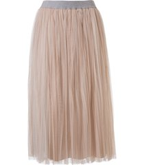 fabiana filippi pleated long skirt