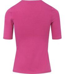 shirt 100% pima cotton ronde hals van peter hahn roze
