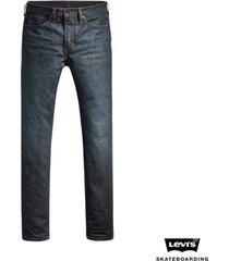 calça jeans levis masculino skateboarding 511 slim média