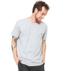 camiseta polo wear bã¡sica cinza - cinza - masculino - algodã£o - dafiti