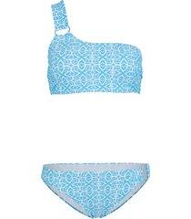 bikini a bustier (set 2 pezzi) (blu) - bodyflirt