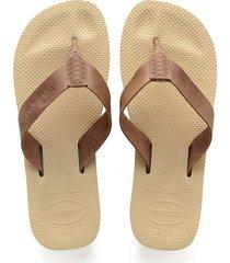 sandalias havaianas urban special beige 4140688