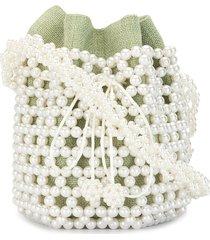 0711 bibi bucket bag - green
