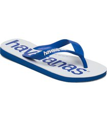 top logomania 2 shoes summer shoes flip flops blå havaianas