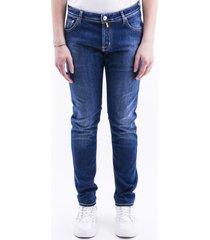 jacob cohen blend cotton jeans