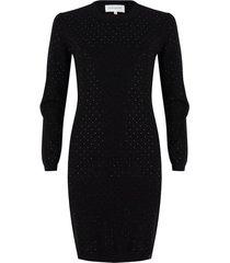 jurk met strass