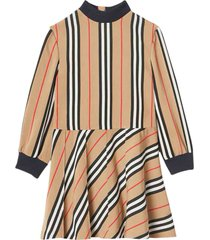 burberry printed dress