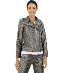 blazer amy vermont grijs::zilverkleur