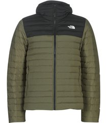 donsjas the north face men's stretch down hoodie