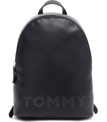 mochila mini negro tommy hilfiger