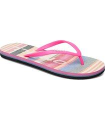 fw profile graphic sandals shoes summer shoes flip flops rosa o'neill