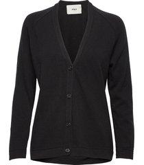 rorry stickad tröja cardigan svart stig p