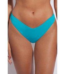 calzedonia high cut brazilian swimsuit bottom indonesia eco woman blue size 4