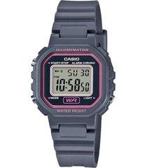 reloj digital gris casio