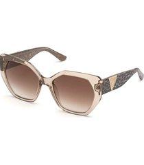 geometryczne okulary przeciwsłoneczne