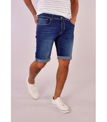 korte broek gabbiano denim bergamo short blue denim met stretch