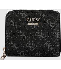 billetera negro-gris guess