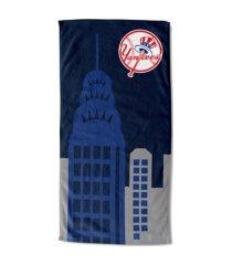 "northwest company new york yankees 30x60 ""empire"" beach towel"