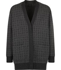 givenchy branded cardigan