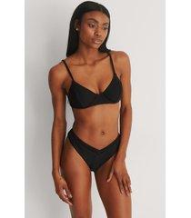 marije zuurveld x na-kd strukturerad bikiniunderdel - black