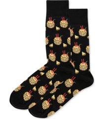 hot sox men's socks, pineapple