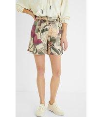100% lyocell shorts - white - 46