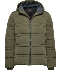 classic hooded primaloft jacket gevoerd jack groen scotch & soda