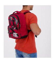 mochila flamengo prins vermelha