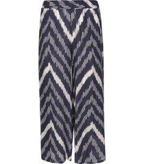 parosh zig-zag stripe trousers
