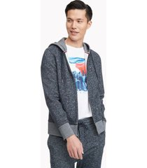 tommy hilfiger men's essential tommy hoodie sky captain - xs