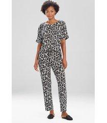 natori ombre leopard pants, women's, size xl