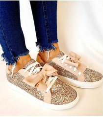 zapatilla plateada vita shoes glitter