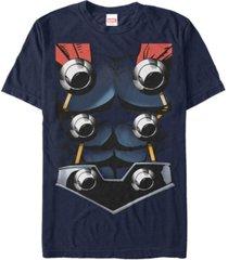 marvel men's avengers assemble thor suit costume short sleeve t-shirt