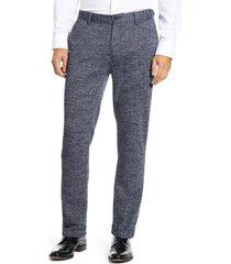 men's vince camuto tech slim fit pants, size 32 x 32 - blue