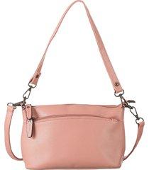bolsa fedra f5542 rosa - rosa - feminino - dafiti