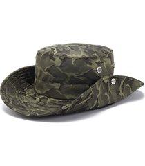 cappello da pescatore mimetico in cotone da donna cappellino da pescatore mimetico in cotone da donna