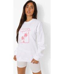 beverly hills sweater, white