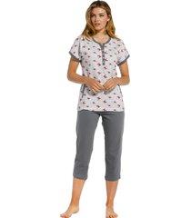 dames pyjama pastunette 20211-100-4-50