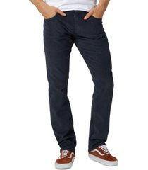 wrangler men's slim tapered corduroy pants