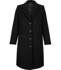 mantel miamoda zwart