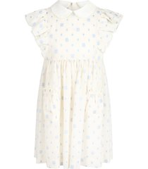 gucci ivory dress for girl with double gg