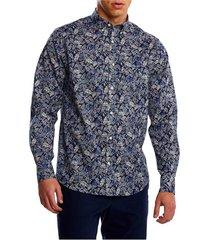 d2.reg micro tuinprint overhemd