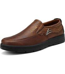 scarpe basse in microfibra comoda a taglia grande
