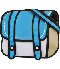 morral chico solapa 2 tiras midosuji celeste-blanco fight for your right