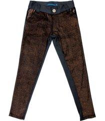 pantalón dorado mapamondo