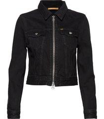 truth zip jeansjack denimjack zwart tiger of sweden jeans