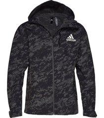 m id refl jkt outerwear sport jackets zwart adidas performance