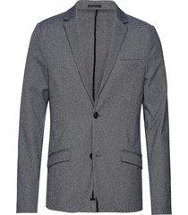 superflex knitted blazer blazer kavaj grå lindbergh