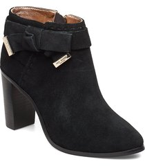 anaedi shoes boots ankle boots ankle boots with heel svart ted baker