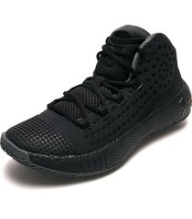 tenis basketball negro-gris under armour hovr havoc 2